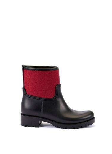 Esem ESEM B0006 Yağmur Botu Kadın Ayakkabı  Bordo